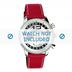 Dolce & Gabbana klockarmband 3719740276 Läder Röd + sömmar vitt