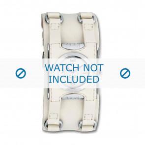 Dolce & Gabbana klockarmband DW0100 Läder Gräddvit / Beige / Elfenben