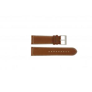 Davis klockarmband BB0451.24L Läder Ljusbrun 24mm