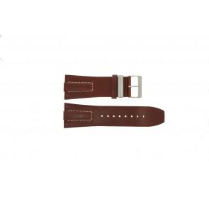 Davis klockarmband BB0580 / BB0581 / BB0582 Läder Brun 30mm