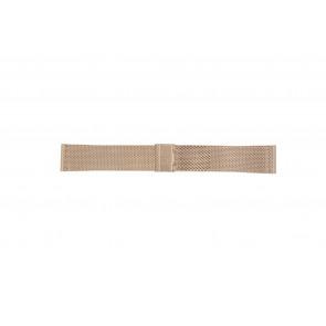 Klockarmband Davis B0813 Stål Rosévin 22mm