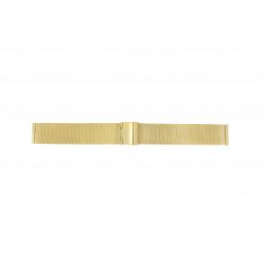 Klockarmband Universell 18.1.5-ST-DB Milanese Guldpläterad 18mm