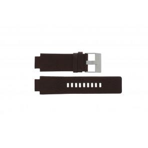 Klockarmband Diesel DZ1123 Läder Brun 18mm