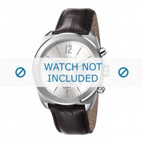 Esprit klockarmband ES107571001-40L Läder Svart + sömmar svart