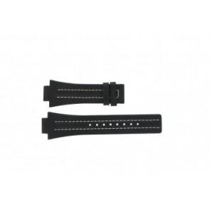 Klockarmband Festina F16185 / 1 Läder Svart 16mm