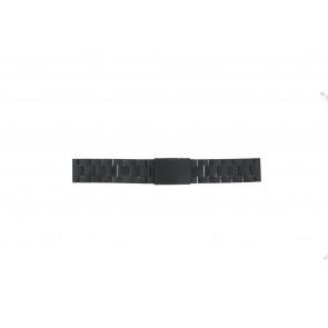 Fossil klockarmband CH2816 Metall Svart 20mm