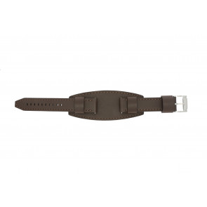 Klockarmband Fossil JR1395 Läder Brun 20mm