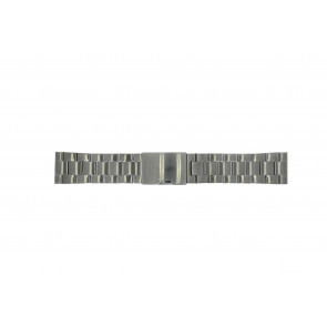 Klockarmband Fossil FS4662 / 12XXXX / 25XXXX Stål Antracitgrå 24mm