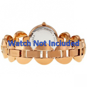 Fossil klockarmband ES-3011 Stål Guld (Rosé) 24mm