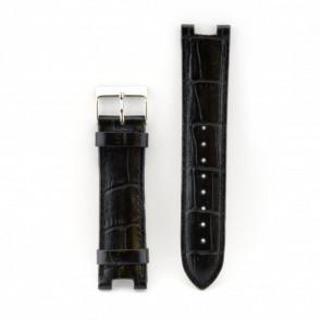 Klockarmband Guess W11008L2 Läder Svart 21mm
