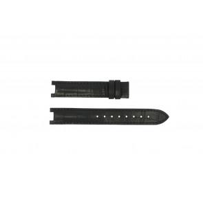 Guess klockarmband GC24001L2 / GC15000 Läder Svart 16mm