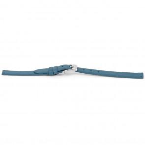 Prisma klockarmband  0101 Läder Ljusblå 8mm