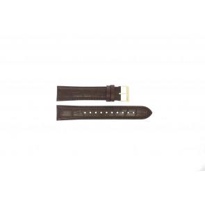 Klockarmband Hugo Boss HB-334-1-34-3114 / HB1513640 / HB659302886 Läder Brun 20mm