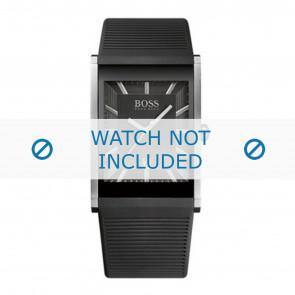Hugo Boss klockarmband HB1512980 / HB-218-1-14-2615 Gummi / plast Svart