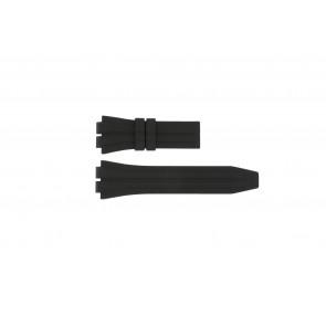 Jaguar klockarmband J637 / 1 Gummi / plast Svart 20mm