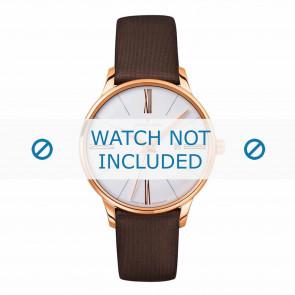 Junghans klockarmband 047/7571.00 Läder Brun 14mm
