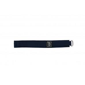 Kardborreband Klockarmband marinblått 18mm