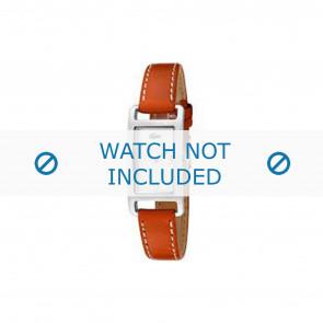 Lacoste klockarmband 2000310 / LC-05-3-14-0006 Läder Apelsin 12mm + sömmar vitt
