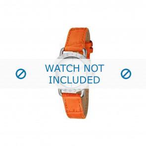 Lacoste klockarmband 2000513 / LC-05-3-14-0167 Läder Apelsin 13mm + sömmar orange