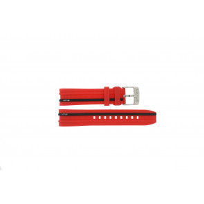 Lotus klockarmband 15881/2 Gummi / plast Röd 22mm