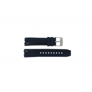 Lotus klockarmband 15881 Gummi Mörk blå 18mm