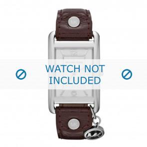 Michael Kors klockarmband MK2262 Läder Brun 18mm + default sömmar