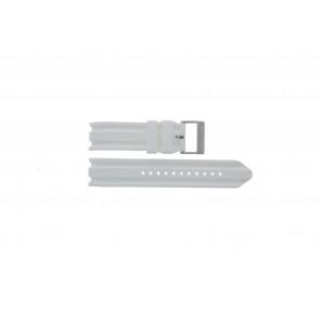 Nautica klockarmband A14608 Gummi Vitt 22mm