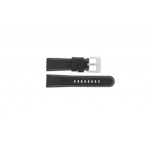 Danish Design klockarmband IQ13Q712 Läder Svart 20mm