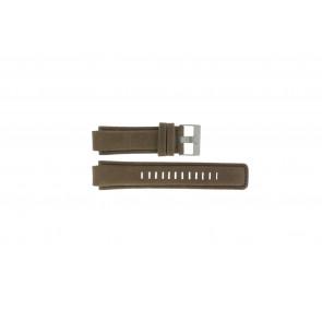 Timex klockarmband P2N721 / 45601 Läder Brun 16mm