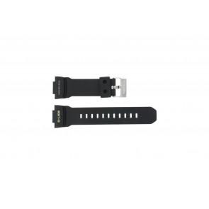 Casio klockarmband GLX-150-1W Gummi Svart 16mm