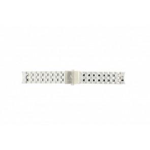 Armani klockarmband AX-2195 Stål Silver 22mm