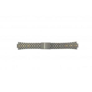 Pulsar klockarmband V657-8000 / PJN010P1 / 70Q6XG Titan Bi-färg 11mm
