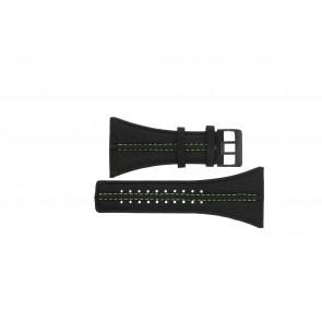 Klockarmband Police PL13497JSB.02 / GR Läder Svart 44mm