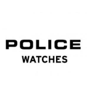 Police klockarmband PL-14385J Läder Svart