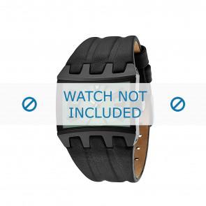 Police klockarmband 13420JS-05B Läder Svart