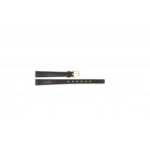 Klockarmband Pulsar 564LA / V810-X078 / PS502X Läder Mörk brun 10mm