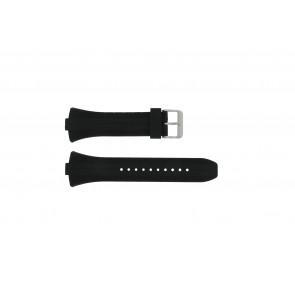 Pulsar klockarmband 7T62-X133 / VX42-X124 Gummi Svart 10mm