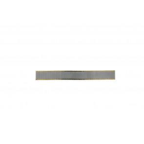 Klockarmband Universell Rowi Bi-color Stål Bi-färg 20mm