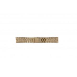 Fossil klockarmband S222112 Metall Rosévin 22mm