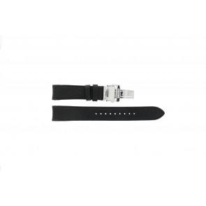 Seiko klockarmband 7D46-0AB0 Läder Svart 20mm