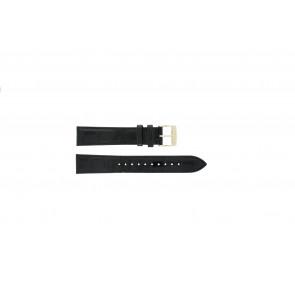 Seiko klockarmband 7N32-0DE0 Läder Svart 18mm
