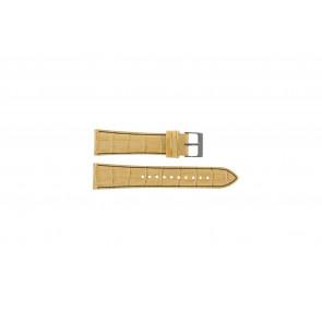 Klockarmband Seiko 7T92-0NK0 / SNDD69P1 Läder Ljusbrun 22mm