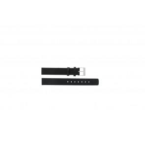 Klockarmband Skagen 355SSLW / 355SSLB Läder Svart 14mm