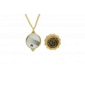 SOS talisman hängsmycke med kedja (soshk)