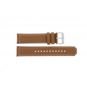 Klockarmband Seiko SRPA75K1 / 4R35 01N0 / M0FP71BN0 Läder Konjak 21mm