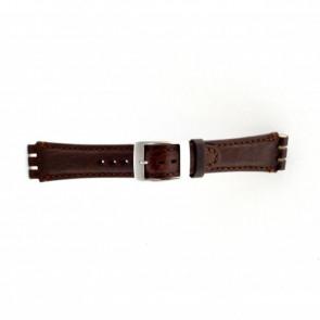 Klockarmband Swatch (alt.) SC14.02 Läder Brun 19mm