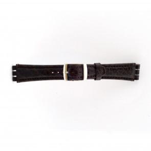 Klockarmband Swatch (alt.) 21412.27 Läder Brun 19mm