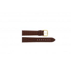 Tissot klockarmband 970-122 T870 - T600013060 Krokodil läder Brun 18mm
