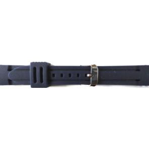 Klockarmband Gummi 22mm Blå PVK DS253