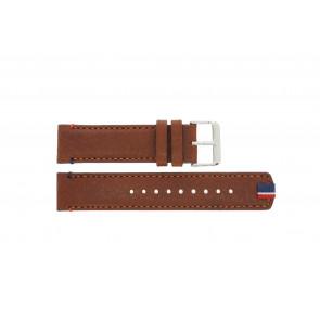 Tommy Hilfiger klockarmband TH-248-1-14-1685 / TH679301739 Läder Brun + sömmar brun